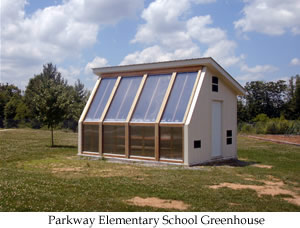 Parkway school greenhouse