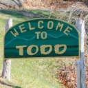 Welcome to Todd sign
